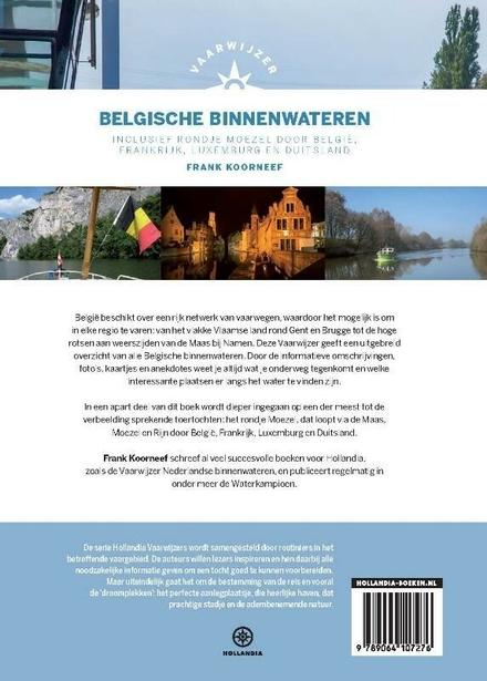 Vaarwijzer Belgische binnenwateren : inclusief rondje Moezel door België, Frankrijk, Luxemburg en Duitsland
