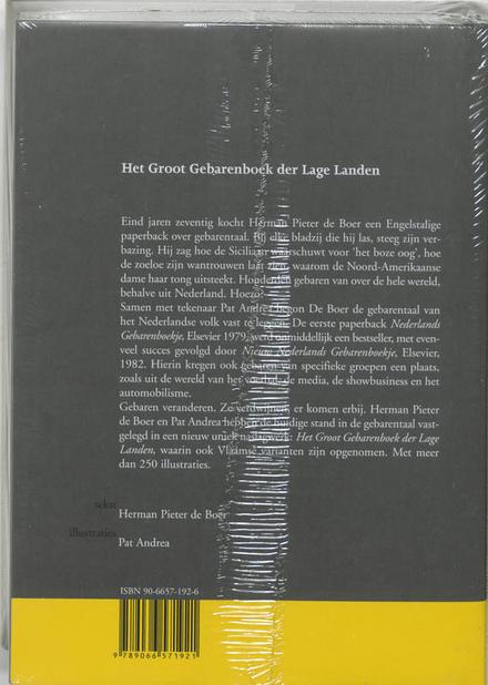 Het groot gebarenboek der Lage Landen