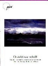 Onzichtbaar schrift : gedichten