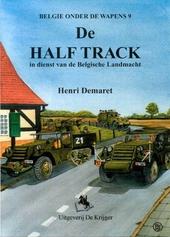 De half track in dienst van de Belgische Landmacht