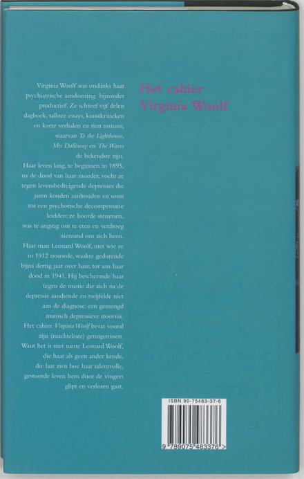 Het cahier Virginia Woolf