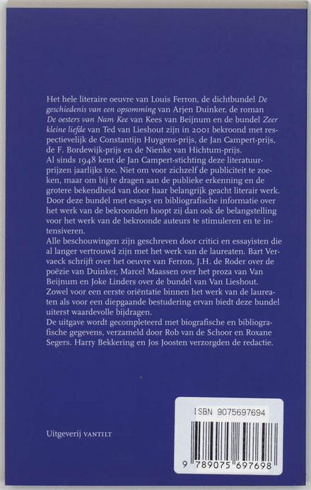 Jan Campert-prijzen 2001