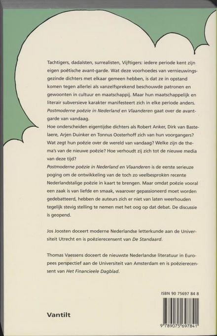 Postmoderne poëzie in Nederland en Vlaanderen