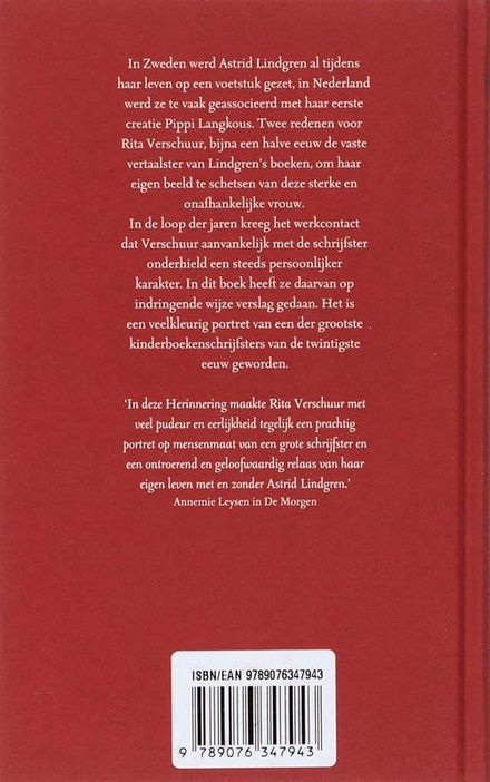 Astrid Lindgren : een herinnering