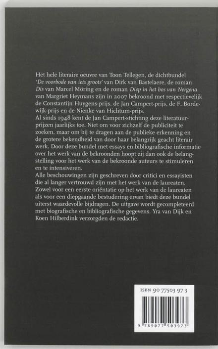 Jan Campert-prijzen 2007