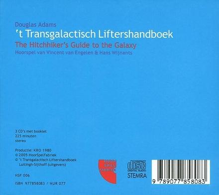't Transgalactisch liftershandboek