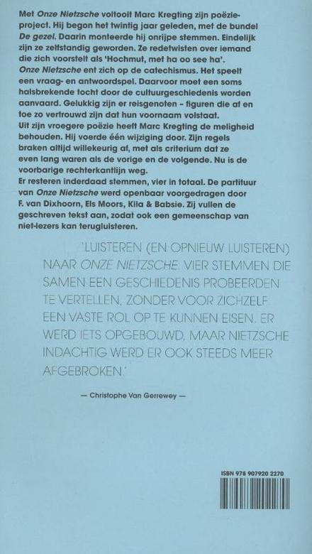 Onze Nietzsche : catechismen