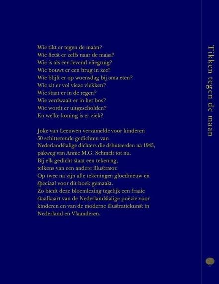 Tikken tegen de maan : 50 kindergedichten uit Nederland en Vlaanderen
