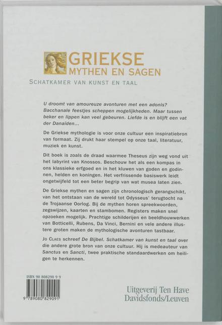 Griekse mythen en sagen : schatkamer van kunst en taal