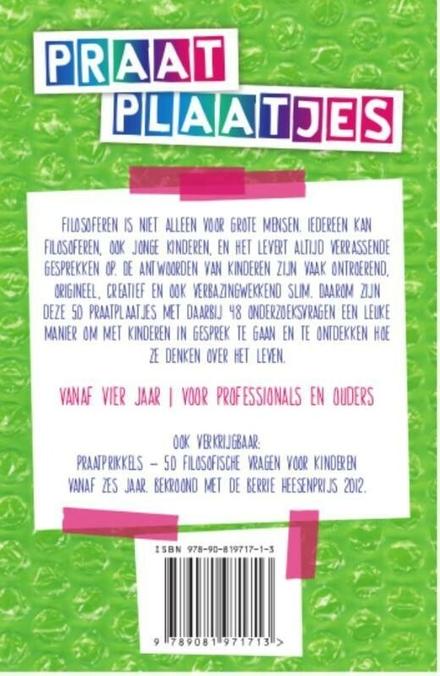 Praatplaatjes om te filosoferen met jonge kinderen