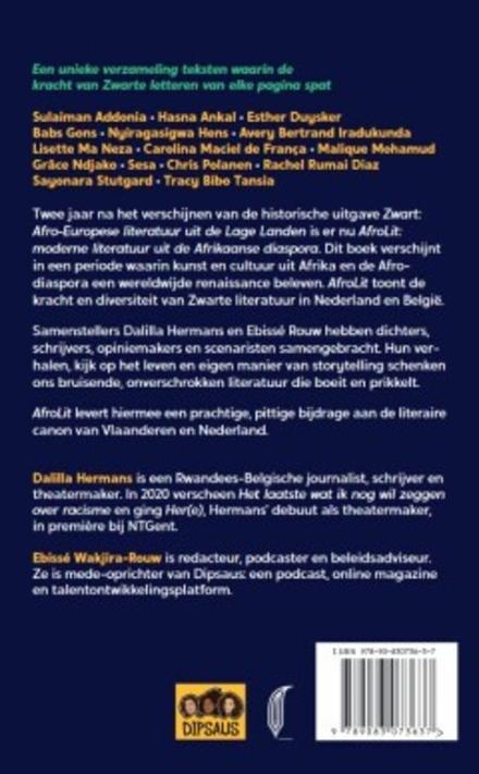 AfroLit : moderne literatuur uit de Afrikaanse diaspora