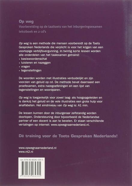 Op weg : voorbereiding op de taaltoets van het inburgeringsexamen