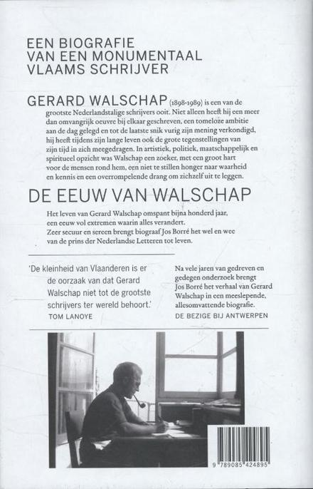 Gerard Walschap : een biografie