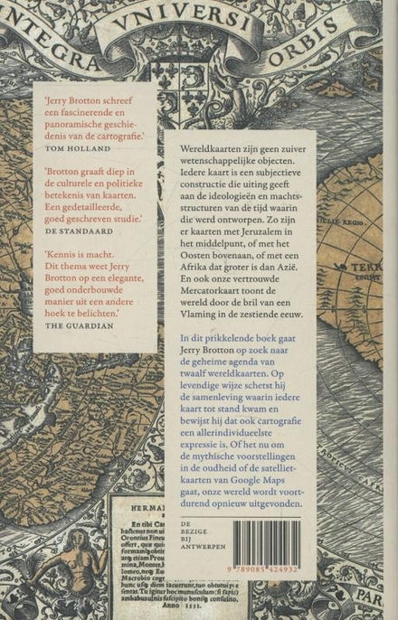 Een geschiedenis van de wereld in twaalf kaarten