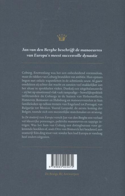 De stoeterij van Europa : de Coburgs en hun klim naar de macht