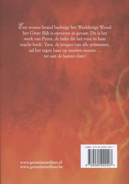 De heks van vuur en vlam
