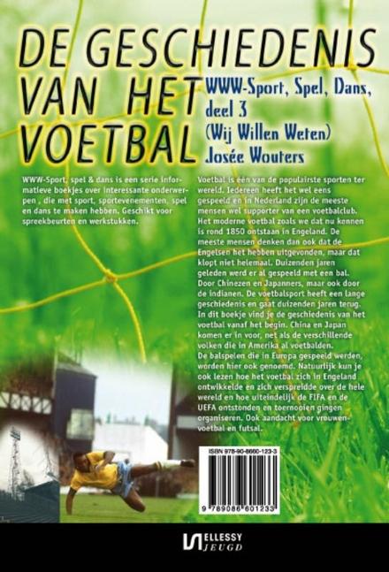 De geschiedenis van het voetbal