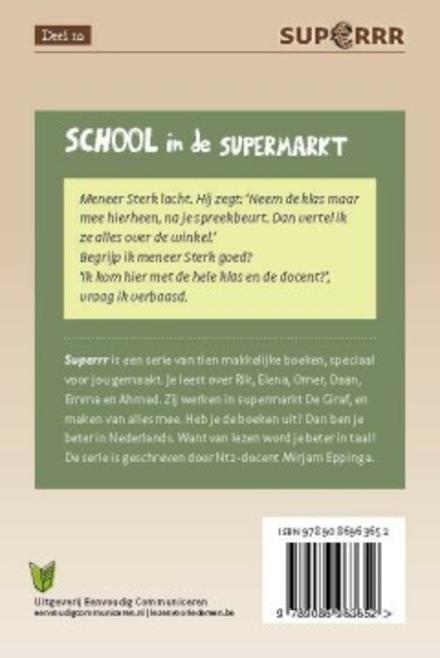 School in de supermarkt