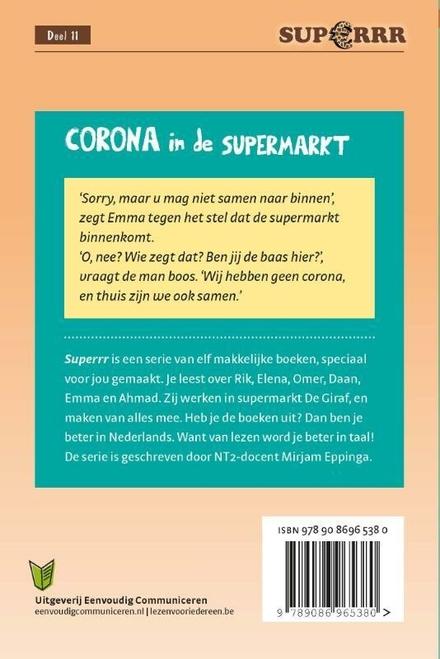Corona in de supermarkt