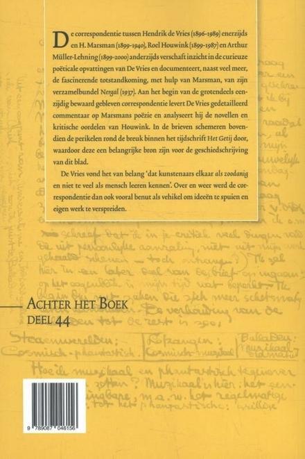 Brieven aan H. Marsman, Roel Houwink en Arthur Lehning, 1922-1939