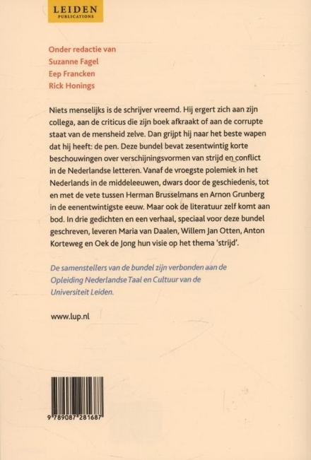 Strijd! : polemiek en conflict in de Nederlandse letteren