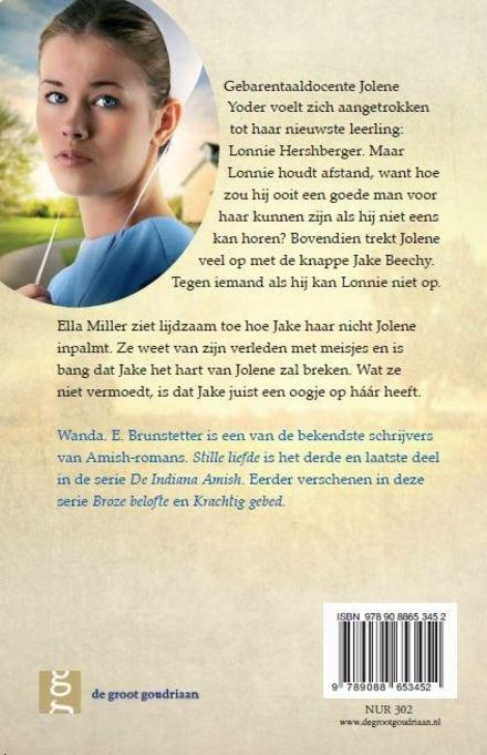 Stille liefde : roman
