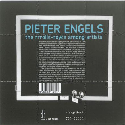 Pieter Engels : the rrrolls-royce among artists