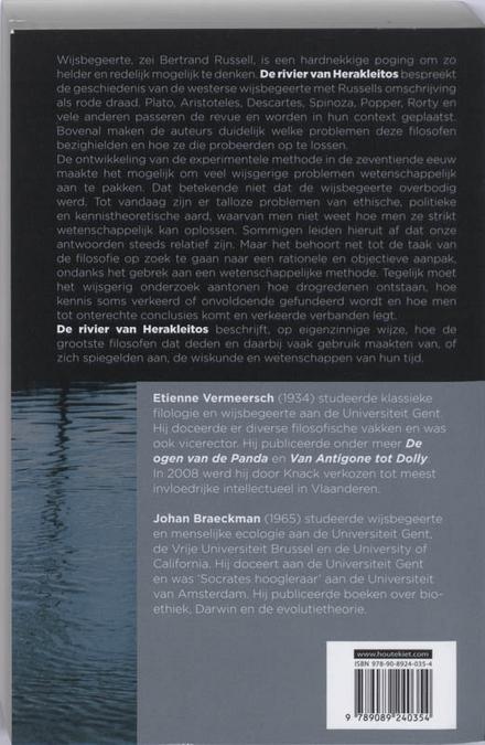De rivier van Herakleitos : een eigenzinnige visie op de wijsbegeerte