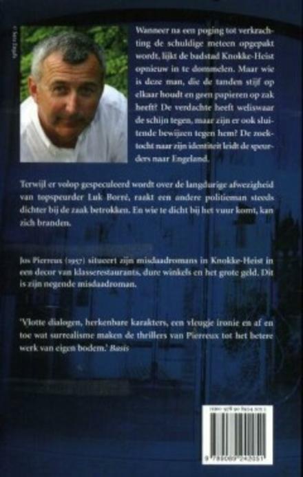 Laatste halte : Lippensville : géén onderzoek van Luk Borré, de niet altijd even sympathieke Knokse speurder