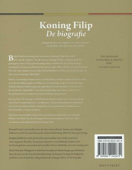Koning Filip : de biografie
