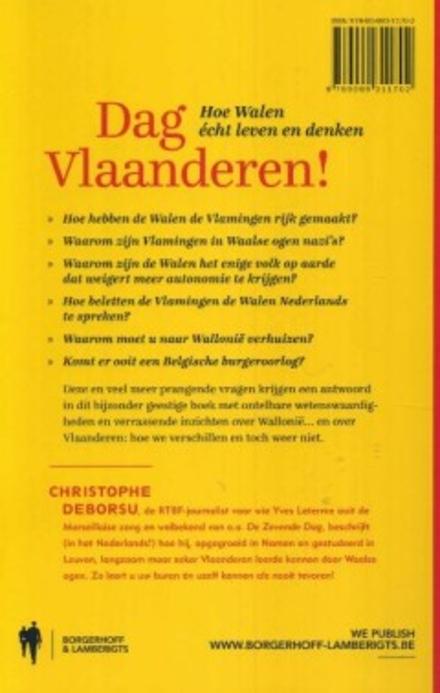 Dag Vlaanderen! : hoe Walen écht leven en denken