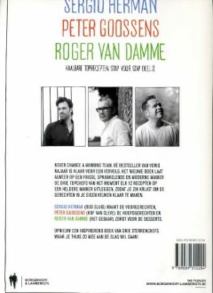 Sergio Herman, Peter Goossens & Roger Van Damme : haalbare toprecepten stap voor stap. Deel II