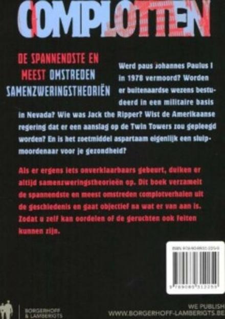 Omnibus complotten : de spannendste en meest omstreden samenzweringstheorieën