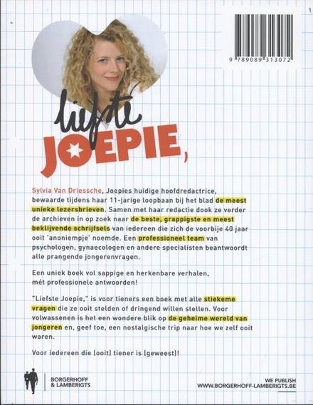 Liefste Joepie : 40 jaar stiekeme lezersbrieven : voor iedereen die (ooit) tiener is (geweest)