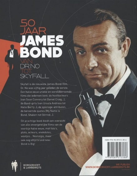 50 jaar James Bond : van Dr. No tot Skyfall