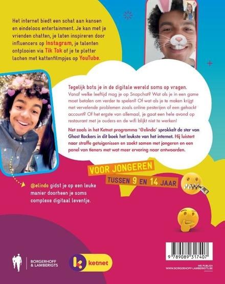 Het boek van @elindo : op het internet like a boss : veilig & verantwoord online