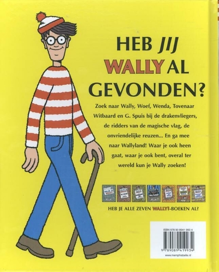 Waar is Wally? : de fantastische reis