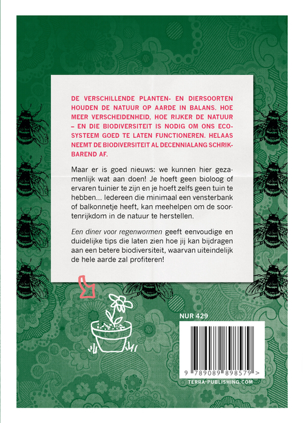 Een diner voor regenwormen : 50 tips om de biodiversiteit te vergroten