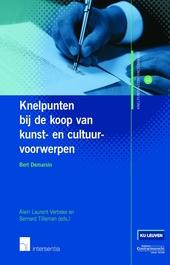 Knelpunten bij de koop van kunst- & cultuurvoorwerpen : contractuele aandachtspunten
