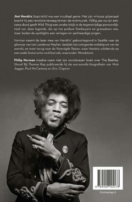 Wild thing : de biografie van Jimi Hendrix