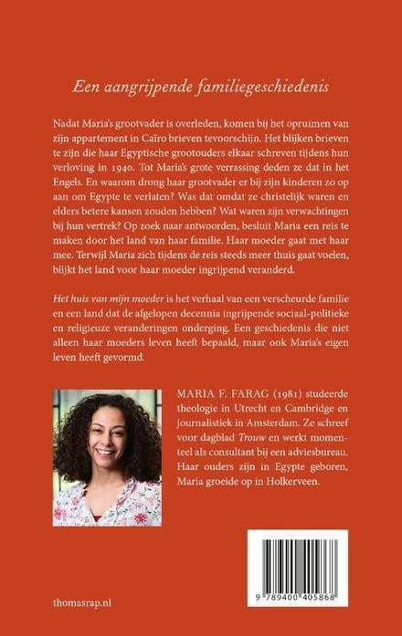 Het huis van mijn moeder : een Egyptisch-Nederlandse familiegeschiedenis