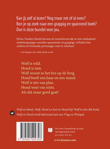 Het woeste boek van Wolf en Hond