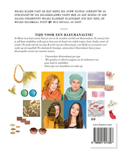 Kleur in je kast : vind de juiste kleur voor jouw teint en type