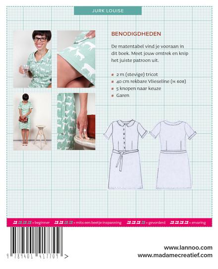 Madame creatief : patronen jurk Louise