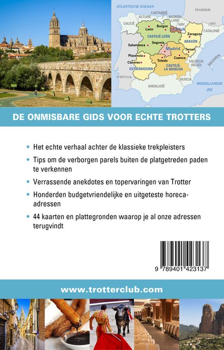 Madrid, Castilië : Toledo, Zaragoza, La Rioja, Extremadura