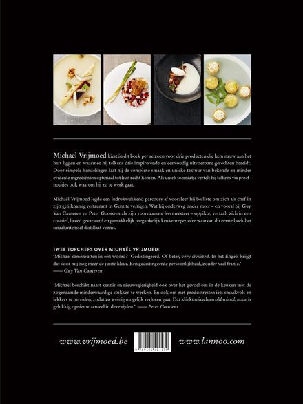 Vrijmoed : de chef, zijn producten en zijn signatuur