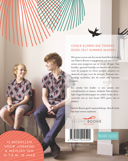 Remi & Cosette for teens : naai zelf je hippe outfit