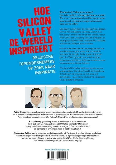 The spirit of the valley : overdonderende inspiratie uit het nieuwe Wilde Westen : voor ondernemende pioniers van m...