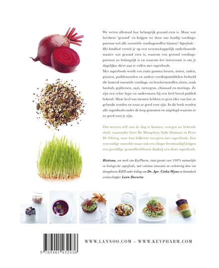 Superfoods : het handboek : met 70 heerlijke recepten voor een leven vol energie