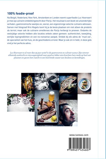 Must Eat Parijs : een eigenzinnige selectie culinaire adressen